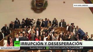 Tensión en la Asamblea venezolana: Juan Guaidó rechaza la elección de Luis Parra