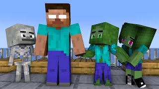 Monster School: ALL BABY HOMELESS - Minecraft Animation