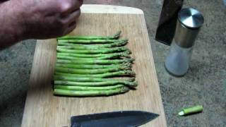 Greg Tivis: How To Steam Asparagus In A Paper Bag