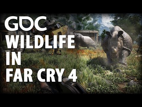 Grounding Wildlife in the Mountains of Far Cry 4