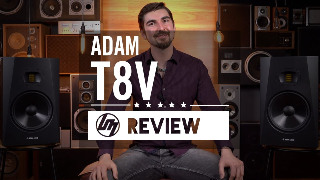 Adam T8V Studio Monitor Review | Better Music