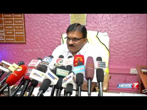 Coimbatore airport director speaks about the ongoing land extension controversy | News7 Tamil
