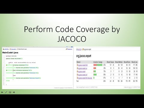 How To Perform Code Coverage By JaCoCo - White Box Testing