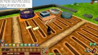 Wizard101 - Garden Stacking Part 1 - stacking statue bases onto crates.
