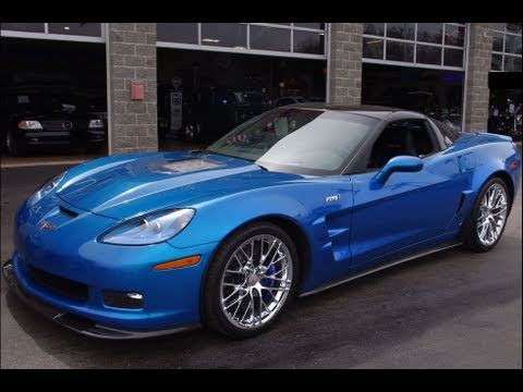 2009 Chevrolet Corvette ZR1 - Supercharged 638 HP Six-Speed Carbon ...