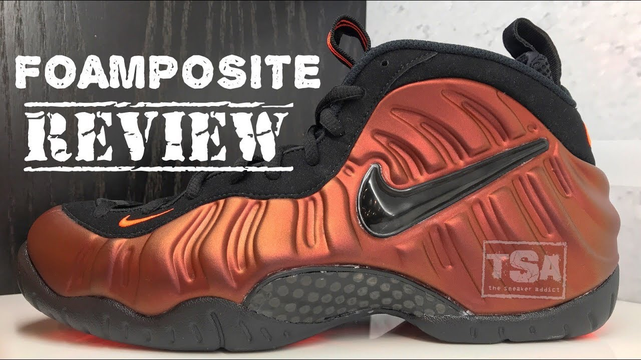d5bbf8ccafb Nike Foamposite Pro Hyper Crimson Sneaker Detailed Look Review  Sneakerhead   Foamposite  JustDoIt