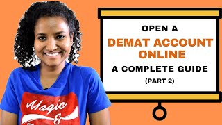 How to Open a DEMAT Account? (For Beginners) | Part 2 | How to Make Money in the Stock Market?