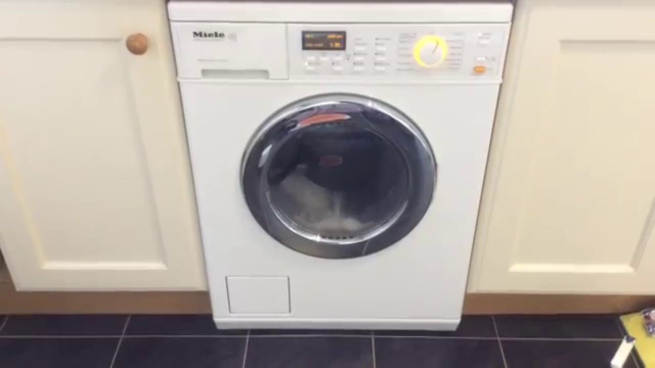 New Washer And Dryer Preview Of A New Miele Wt2670 Washer Dryer