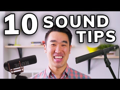 10 EASY Sound Recording Tips: How to Record Audio for YouTube Videos