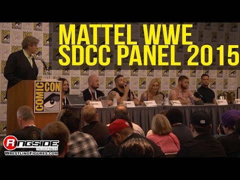 Mattel WWE Entire Panel! - SDCC 2015 - San Diego Comic Con!