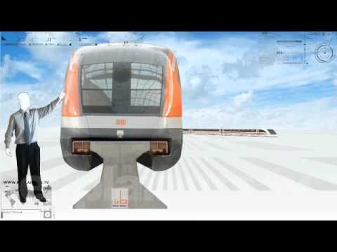 Trenes de levitación magnetica, en 60 segundos. www.explainers.tv