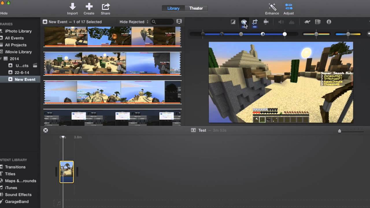How to brighten or darken a video in iMovie