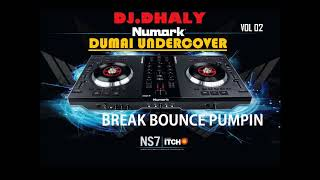 Gambar cover DJ DHALY BREAKBEAT BOUNCE 2018 VOL 2 KENCANG ABISSSS