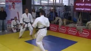 Томики айкидо - Опен ката(Показательное выступление в ТЦ