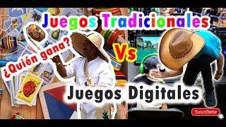 Juegos Tradicionales Vs Juegos Digitales