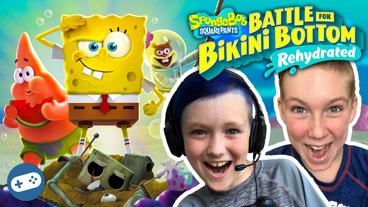 SpongeBob SquarePants: Battle for Bikini Bottom Rehydrated Multiplayer Gameplay