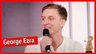 George Ezra's friends are keeping him grounded after Shotgun number 1