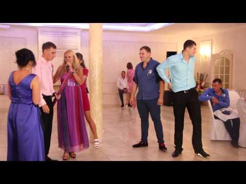 Конкурс на свадьбе Палочка Юлия Шоке 17.09.15 arthall.od.ua