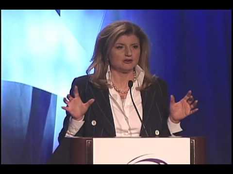 Arianna Huffington 2010 Anita Borg Institute Women Of Vision Keynote Address