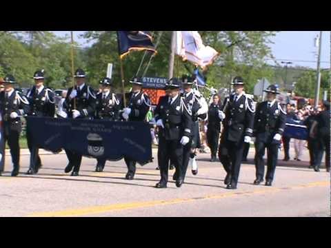Sterling Heights Police Honor Guard at Sterling Heights Memorial Day parade