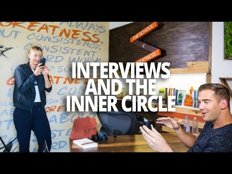Behind the Scenes of Podcast Interviews and The Inner Circle (Lewis Howes Vlog)