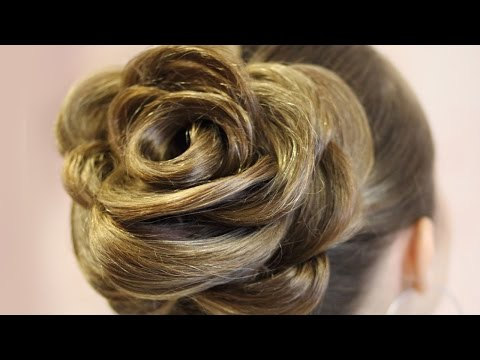 Причёска - Роза -  идея (Фото) - Hairstyles by REM