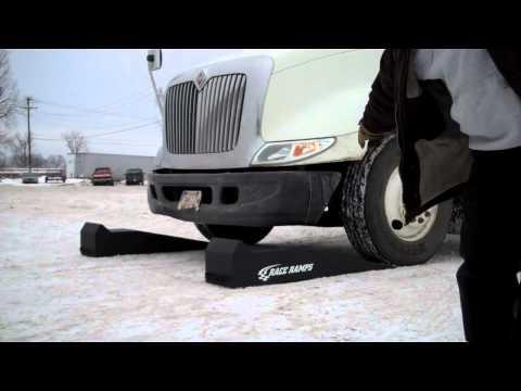 Race Ramps w/ Semi Truck