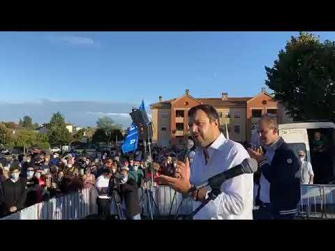 Salvini da Anguillara (Roma) (25.09.20)