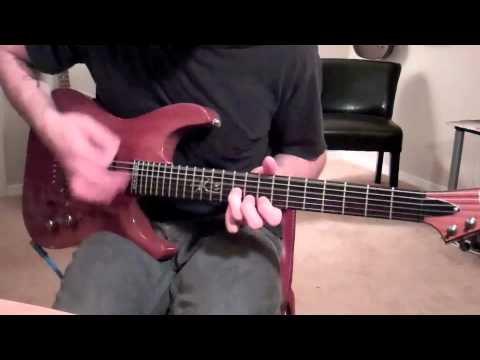 Chevelle - Saferwaters (guitar cover)