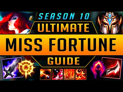 MISS FORTUNE GUIDE SEASON 9 (2019) ULTIMATE GUIDE [BEST RUNES, ITEMS, GAMEPLAY, COMBOS] | Zoose