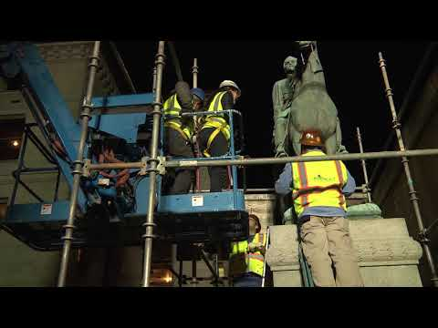 Removal of John C. Breckinridge & John Hunt Morgan Statues from Courthouse Plaza