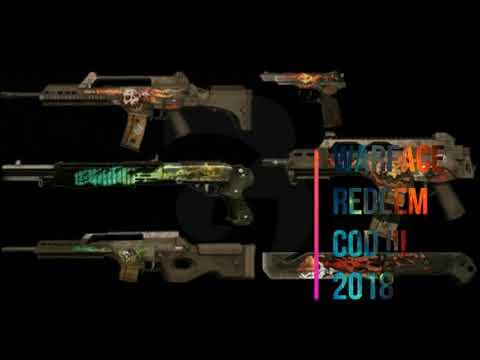!!!Warface Redeem Code Free 2018 !!!