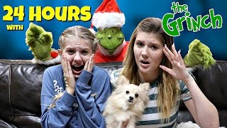 24 Hour Challenge with The Grinch | Vlogmas 3 | Taylor and Vanessa