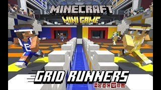 Be the First to Play the New Minecraft Minigame – Grid Runners!