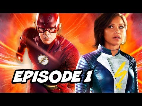 The Flash Season 5 Episode 1 Nora's Big Secrets Revealed