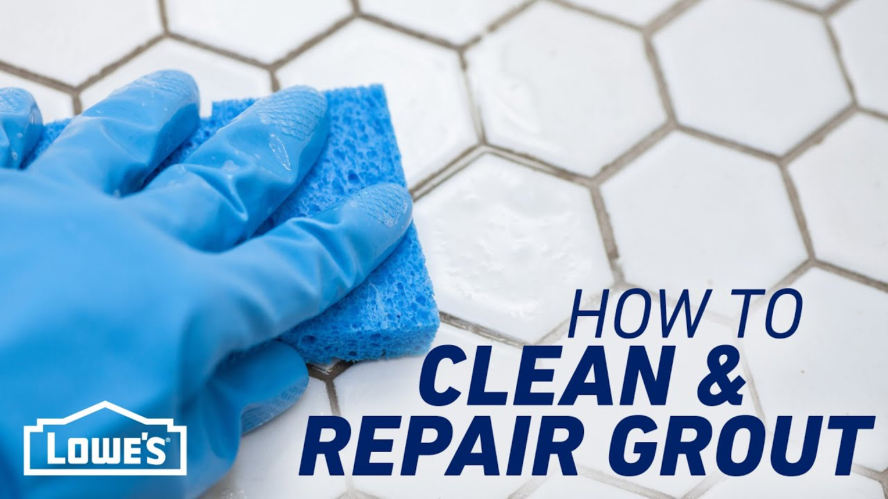 How To Clean & Repair Grout