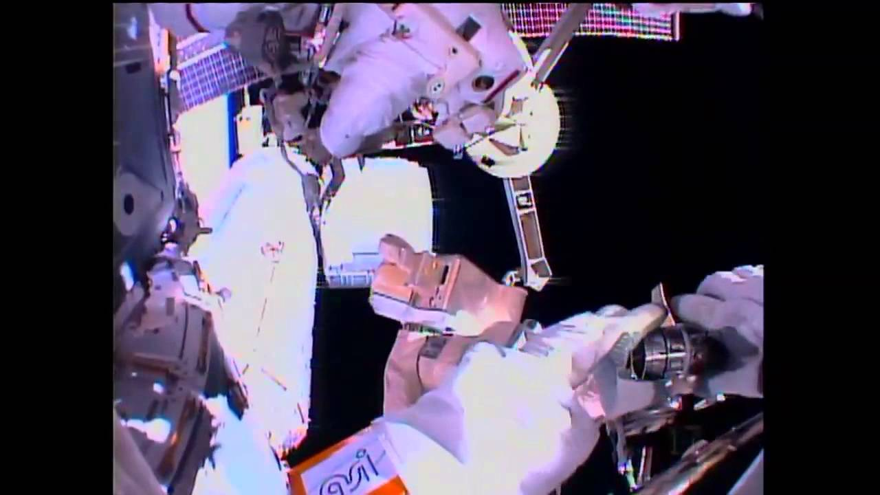 Grab Bag of Tasks Performed During ISS Spacewalk