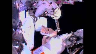 """""""Grab Bag"""" of Tasks Performed During ISS Spacewalk"""