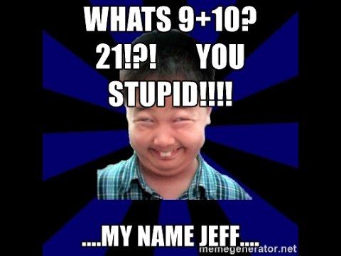 Reviving a Dead Meme (My Nama Jeff) - YouTube