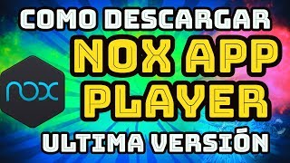 Nox 6 2 version download