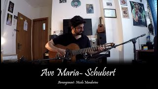 Ave Maria- Schubert (Fingerstyle Guitar Cover)