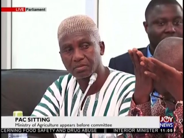 PAC Sitting: Ministry Of Agriculture Appears Before Committee - JoyNews (16-8-18)