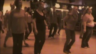 Line Dancing At The Banque