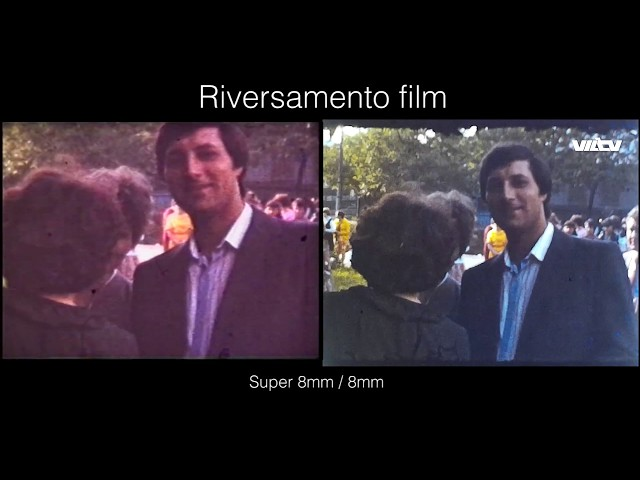 Riversamento Film Super 8mm   8mm   VHS a Milano da VILTV - Conversione pellicole
