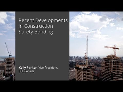 Recent Developments in Construction Surety Bonding