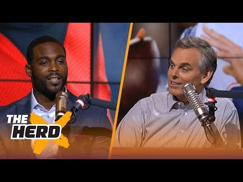 Michael Vick relives playing for the Atlanta Falcons under Dan Reeves | THE HERD