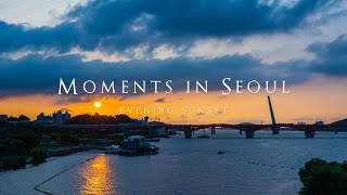 [4K Timelapse] 서울의 석양 | 서울 타임랩스 & 하이퍼랩스