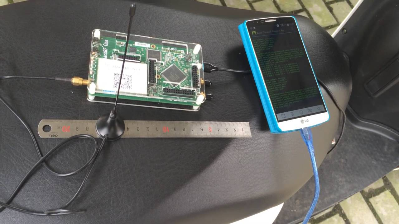 Replay Wireless Key signal with HackRF