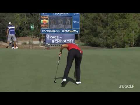 Lydia Ko RD2 Highlights at the 2016 CME Group Tour Championship