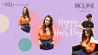 Celebrating Happy Hair Day   V-Log Teaser   Jean Claude Biguine